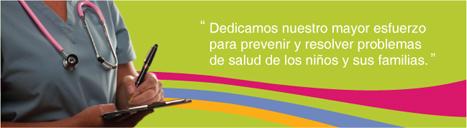 Dedicamos nuestro mayor esfuerzo para prevenir y resolver problemas de salud de los niños y sus familias